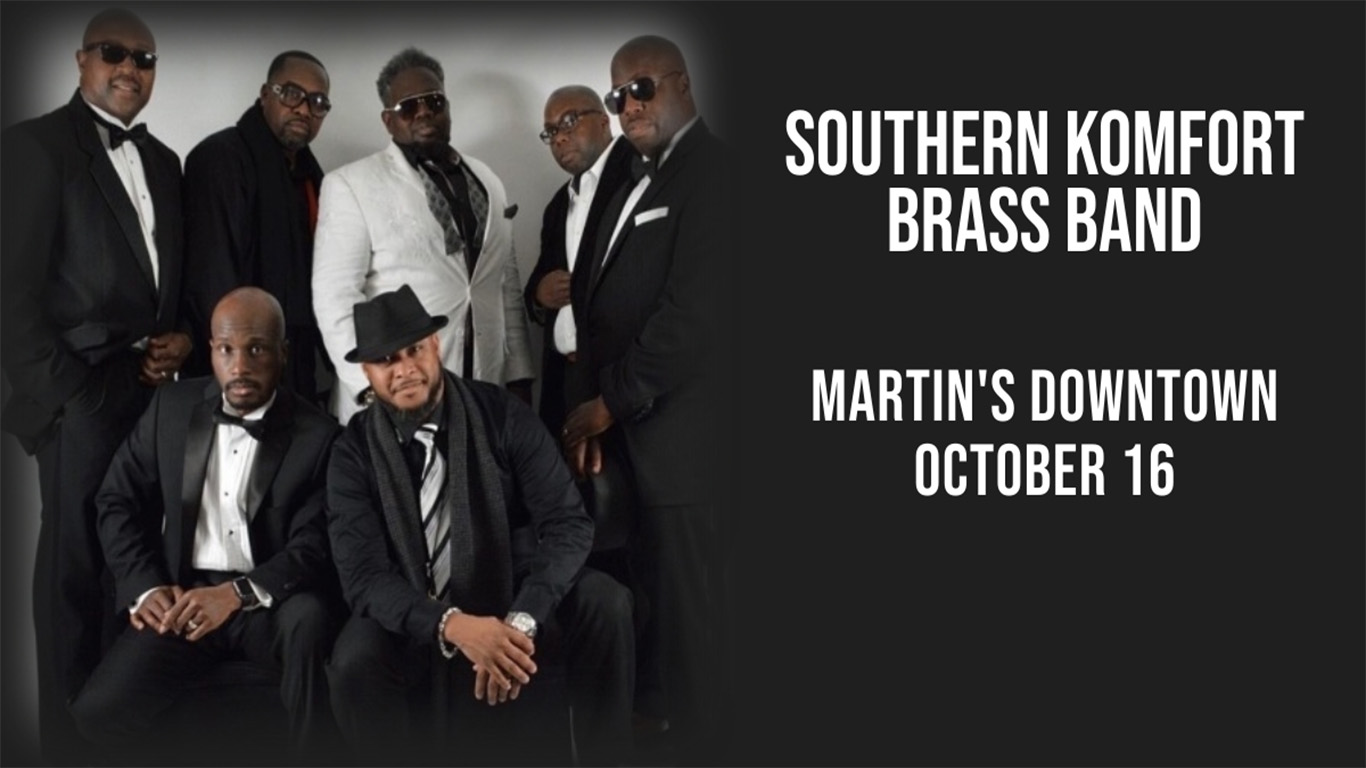 Southern Komfort Brass Band Live at Martin's Downtown