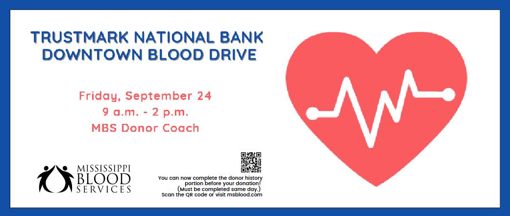 Trustmark National Bank Downtown Blood Drive