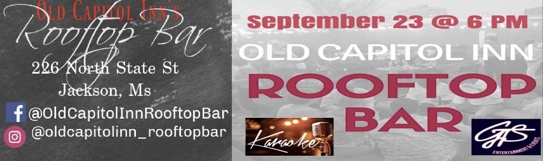 Karaoke Night on the Rooftop!