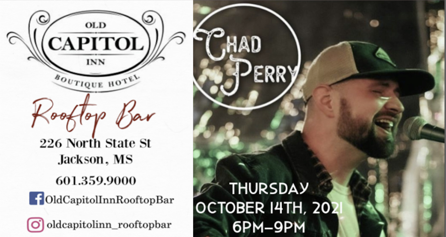 Chad Perry | Old Capitol Inn Rooftop Bar