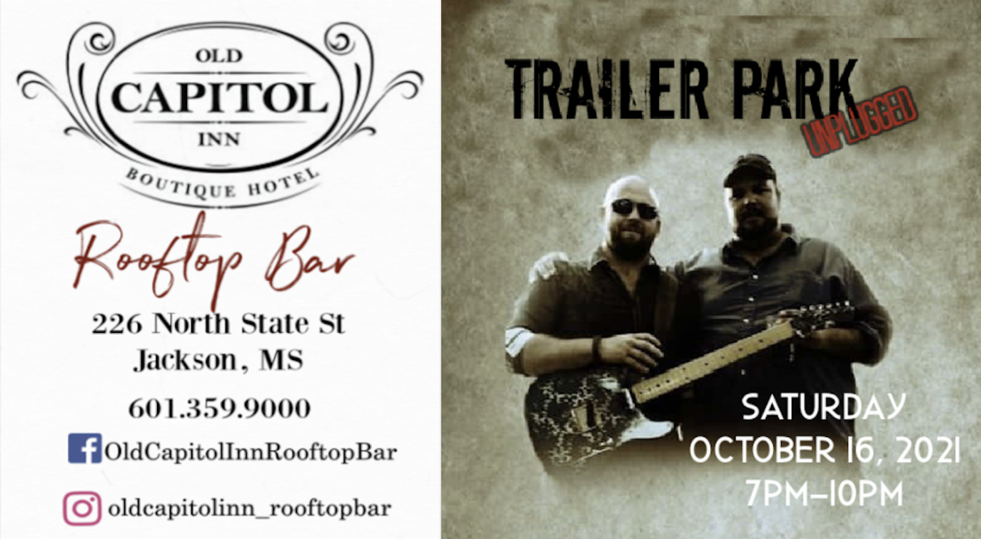 Trailer Park Unplugged   Old Capitol Inn Rooftop Bar