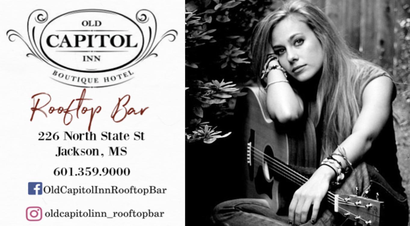 Stevie Cain | Old Capitol Inn Rooftop Bar